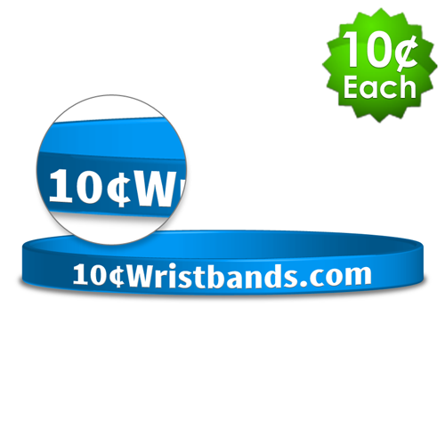 Silkscreened Thin Wristbands