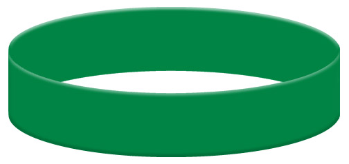Wristband Color Example - Green